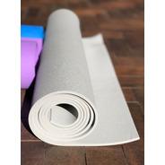 Tapete De Yoga Cinza 5mm X 1,70 X 0,6 (yogamat)