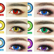 Sexy Tassel Color Contact Lenses