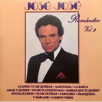 Cd Jose Jose Romantico Vol 2
