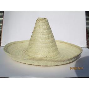 Sombrero Revolucionario Zapatista Palma Paja Niño Adulto Mex