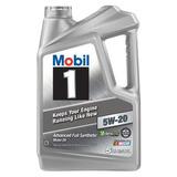 Mobil Aceite De Motor Sintético 5w-20, 5 Quart