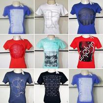 Kit 2 Camisas De Grife Original Vários Modelos Top Promoção!