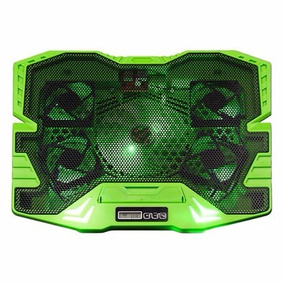 Cooler Gamer Com 5 Fans Led Verde 3000rpm Multilaser Ac292