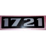 Logo Insignia Emblema Camión Mercedes Benz 1721