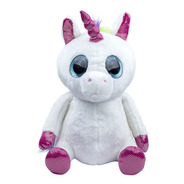 Peluche Ojos Grandes, Happydays, Unicornio Pequeño