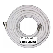 Pack 2 Cable Coaxial Rg6 Tv Cable 1 Metro + Spitter 2 Salida