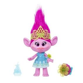 Figura Trolls Grande Poppy Luxo Hasbro