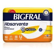 Absorvente Bigfral 20 Unidades