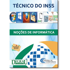 Técnico Do Inss: Noções De Informática