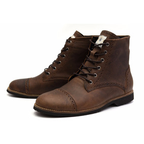 Bota Masculina Shoes Grand Oxford Couro Legítimo - 56160 G