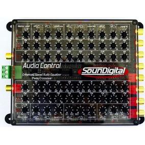 Crossover / Equalizador - Soundigital Audio Control 3 Vias