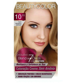Tintura Beauty Color Sem Amônia 10.11 Louro C Platinado