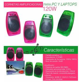 Cornetas Para Computadora Pc, Laptop, Celular, Mp3 Watts120w