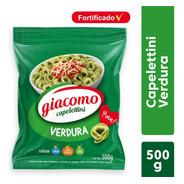 Capelettini Verdura Giacomo Pasta De Semola Fortificada 500g