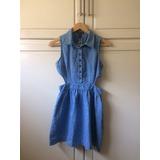 Vestido Dama De Blue Jean Zara Berskha Wet Seal