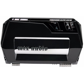 Amplificador Mono Block 600 Watt Rms Mtx Te601d Ve