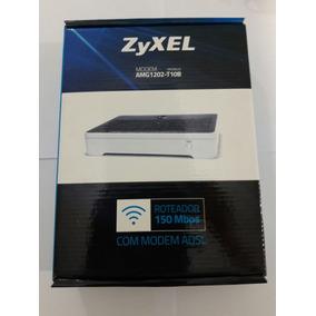 Roteador Sem Fio Modem Zyxel 150 Mbps - Amg1202-t10b