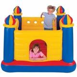 Castillo Inflable Grande Para 02 Niños Saltarin Cama Elastic