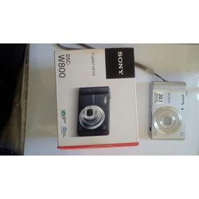 Câmera Digital Sony Dsc W800 + Cartão De Memória De 8gb