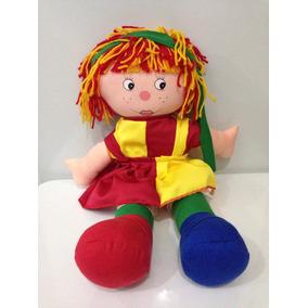 Boneca De Pano Emília 40cm