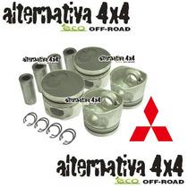 Jogo Pistão C/anéis 0,50 L200 2.5 Hpe 32mm-peças Motor Biela