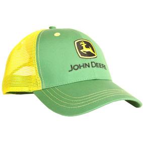 836967592b715 Gorra Negra Con Malla Verde John Deere Para Adulto - Ropa y ...
