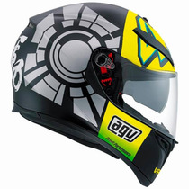 Casco Agv K3 Sv Winter Test Valencia Integ Doble Visor - Fas