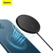 Carregador Wireless Magnetico 15w iPhone 12 Pro Max Baseus
