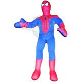 Muñeco Hombre Araña Rojo 60 Cm Spiderman Tribilinbb