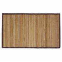 Tapete De Bambu Grande, Natural, Antiderrapante, Sala Jardim