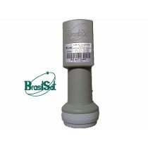 02 - Lnbf Ku Duplo Brasilsat Universal Lnb + 5 Conec Rg06