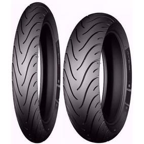 Par Pneu 120/70-17 + 160/60-17 Michelin Xj6 Er6n Ninja 650