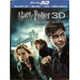 Blu Ray 3d + Blu Ray + Dvd + Cópia Digital Harry Potter -