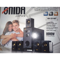 Home Theater 5.1 Canales 8000w