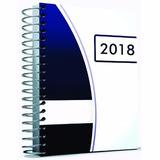 Agenda 2018 Capa Dura Personalizada Foto Logo