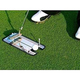 Putter Golf Espejo Tapete Práctica Alineación Regalo
