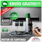 Motor Cortina Metalica 600kg. Seg Comercial Control Remoto