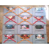 Juegos De Supernintendo Varios Títulos Envío Gratis