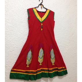 Vestido Indiano Traje Feminino Indiano Roupa Indiana Festa