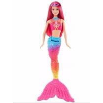Boneca Barbie Sereia Reino Mágico Dos Arco-iris Mattel 2016