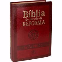 Biblia Evangélica Estudo Reforma Índice Grande 12x Sem Juros