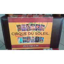 Circo Cirque Du Soleil Estuche Fino Vinipiel Colecc 12 Dvds
