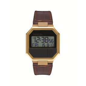 Reloj Nixon Marron Re-run Cuero