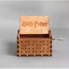 Caixinha Caixa Som Musica Harry Potter Pronta Entrega Livro