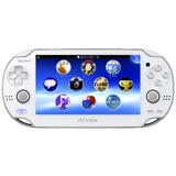 Playstation Vita (playstation Vita) Modelo Wi-fi Crystal Whi
