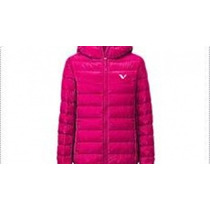 Campera Con Capucha Reves Niña Fucsia / Point By Sport All