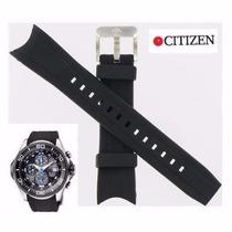 Pulseira Citizen Bj-2110-01 Borracha