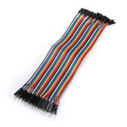 40 Cables Dupont Macho Hembra 20cm Protoboard -pdiy-