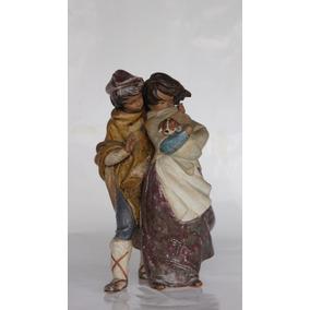 Figura Lladró En Gres - Pareja 36cm