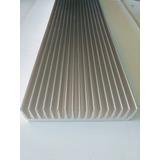 Disipador De Calor Aluminio Zd21x100cm X1mt Led Cob Grow